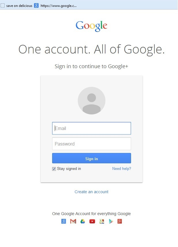 google one account